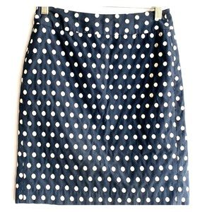 🛍🛍 Banana Republic Polka Dot Skirt Size 00
